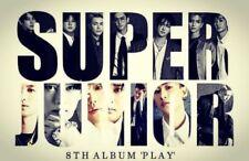 SUPER JUNIOR [PLAY] 8th Album RANDOM CD+FotoBuch+Letter+FotoKarte K-POP SEALED