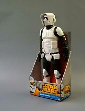 "Star Wars Scout Trooper 18"" Disney Figure, Vintage, Carded - NEW - Sealed"