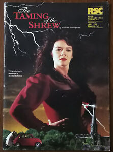 The Taming Of The Shrew by William Shakespeare, RSC Programme/Brochure 1995 / 96