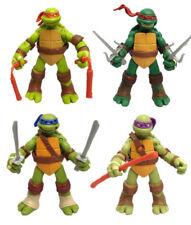 4 pcs Teenage Mutant Ninja Turtles Action Figures TMNT Toy 12cm S340 (2)