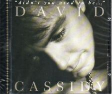 Original 1992 Canadian 1st CD pressing NEW David Cassidy didn't you used to be