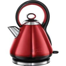 Russell Hobbs 21881 3kW 1.7 Litre Legacy Cordless Kettle In Metallic Red - New