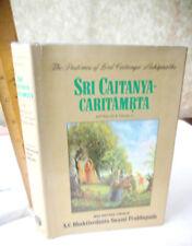 SRI CAITANYA CARITAMRTA,1975,A.B.C.Swami Prabhupada,1st Ed,Illust,DJ