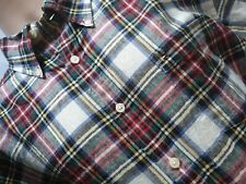 Tommy Hilfiger Mens XL Stunning Multi Check Linen Cotton Ramie S/S Shirt