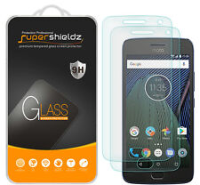 "2X Supershieldz Motorola ""Moto G5 Plus"" Tempered Glass Screen Protector Saver"