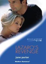 Lazaro's Revenge (Mills & Boon Modern),Jane Porter