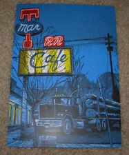 TIM DOYLE Art 5X7 Postcard TWIN PEAKS RR DINER like poster print unreal estate