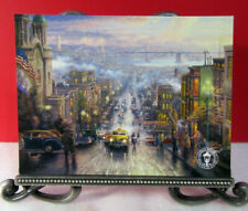 "Powell St./""  Large Dealer Postcard   2007 Thomas Kinkade /""San Francisco"