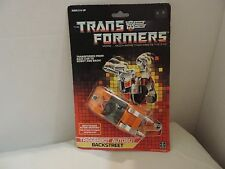 Vintage Transformers G1 Triggerbot Carded Autobot Backstreet Figure