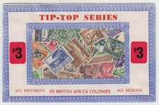 B5469: (10,000) British Africa Stamps in Packets; LOOK!