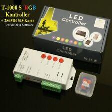 T-1000S 256M SD Card LED Pixel Controller 5050 RGB Stripe LPD6803 WS2801 WS2811