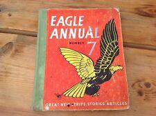 VINTAGE ORIGINAL EAGLE COMIC STRIP ANNUAL No.7 1957 DAN DARE STORIES ARTICLE'S