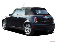 MINI COOPER 2003-2008  NEW STAYFAST BLACK CONVERTIBLE SOFT TOP