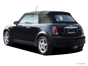 MINI COOPER 2003-2008  NEW STAYFAST BLACK CONVERTIBLE SOFT TOP ONLY R52