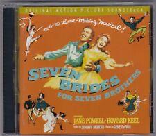 Seven Brides For Seven Brothers - Soundtrack - CD (EMI U.K.)