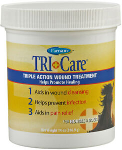 Farnam Tri Care Triple Action Wound Treatment 14 oz.