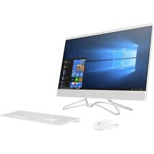 HP 24  All-in-One Desktop Computer Intel Core i5 12GB RAM 1TB HDD White - 8th Ge