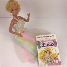 Mattel BARBIE 1980 Original Vintage Happy Birthday Barbie Doll # 1922 W/ Booklet