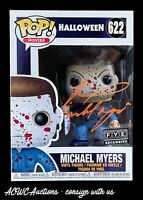 Funko POP - Halloween - Michael Myers (Bloody) FYE - Signed by Tyler Mane - JSA