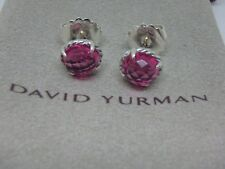 DAVID YURMAN CHATELAINE EARRINGS, Pink Tourmaline