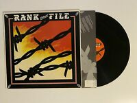 Rank & File - Sundown Vinyl Album Record LP Slash, Rough Trade