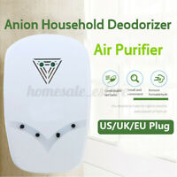 Anion Air Purifier Household Mini Conditioning Smoke Cleaner Room Portable