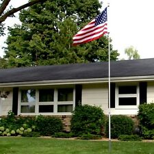Inground Flag Pole Poles Residential American In Ground Heavy Duty Home Yard Usa
