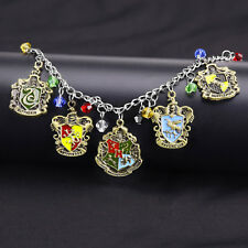 Alloy Harry Potter Bracelet Friendship With House Charm Jewelry Gift Adjustbale