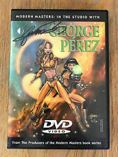 Modern Masters DVD In the Studio with GEORGE PEREZ How To Draw 2HR Video SIGNED