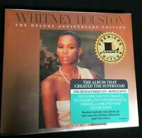 Whitney Houston: Deluxe Anniversary Ed.(UNOPENED CD Jan-2010, 2 Discs, Legacy)
