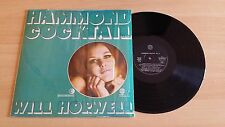 WILL HORWELL - HAMMOND COCKTAIL - LP 33 GIRI - ITALY PRESS