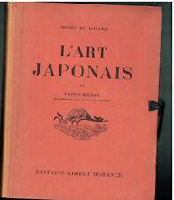 Musée du Louvre - l'Art Japonais par Gaston Migeon - Editions Albert Morange