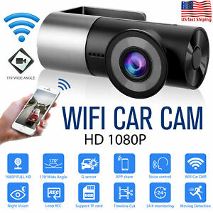 170° WIFI Car Dash Cam DVR Camera Video Recorder HD 1080P Night Vision G-Sensor