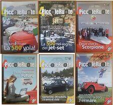 4 Piccoleruote - Periodico del Fiat 500 Club Italia - Annata completa 2009