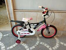 """Vélo 16 Vtt """" Chicane """" Cycles Frères Schiano - Couleur Noire"""