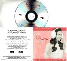 KACEY MUSGRAVES A Very Kacey Christmas 2016 UK 12-trk numbered promo test CD