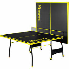 Ping Pong Table Tennis Folding Tournament Size Game Set Indoor Outdoor Sport