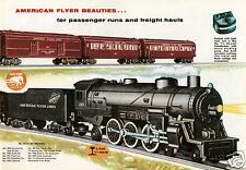 Vintage AMERICAN FLYER Train Ad, Refrigerator Magnet, 40 MIL