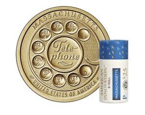 American Innovation $1 Coin 2020 - Massachusetts, Philadelphia Mint $25.00 Roll