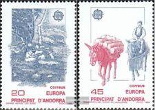 Andorra - españolas Correos 200-201 (completa edición) nuevo con goma original 1