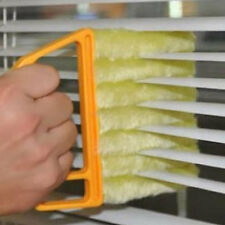 New Venetian Microfibre 7 Brush Blind Cleaner Blind Duster Slats Washable JSUK