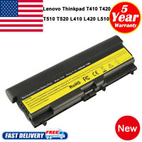 9 Cell High Capacity Battery for Lenovo Thinkpad T510 L510 E420 E520 Laptop PC