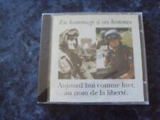 CD MUSIQUE MILITAIRE Aujourd'hui comme hier, au nom de la liberté