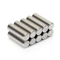 10pcs 3X10MM N35 Zylinder Seltene Erden Stark Leistungsstarke Neodym-Magnete Gut