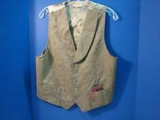 OLD WEST SILVERADO MINING CO REENACTING GAMBLER STYLE VEST SIZE MEDIUM