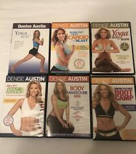 Denise Austin Lot Of 6 Workout/Fitness Dvd'S