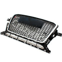 Front Black Mesh Grill Grille for Audi Q5 8R 2013-2015 To RSQ5 Style