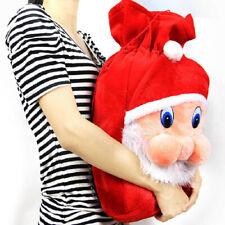 Christmas Gift Bag Sack Drawstring Santa Claus Snowman Wraps Large Candy Bags
