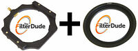 FilterDude LEE Comp Filter Holder Foundation Kit + 67mm Wide Angle Adapter Ring
