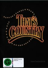 Thats Country! New Zealand 1970s TV show dvd & cd Suzanne Prentice,Eddie Low+